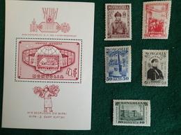 Mongolie - 1932 Et 1965 - Timbres Et Bloc - Mongolia
