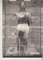 Paestum Statua Fittile Di Zeus Seduto - Sculture