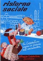"PUBBLICITA'_ADVERTISING_REKLAM-//SAVONA-Piero Vado-""RISTORNO SOCIALE""CON BOLLINI-ALLEANZA COOPERATIVA SAVONESE AN3- - Advertising"