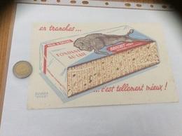 Buvard «PAIN D'ÉPICES BROCHET FRÈRES» - Gingerbread