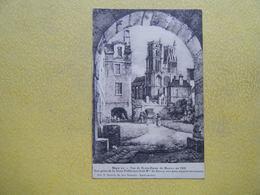 MANTES LA JOLIE. L'Eglise Notre Dame En 1819. - Mantes La Jolie