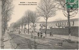 71 Cours Moreau Et La Caserne De La Remonte - Macon