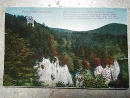 CPA.BURG NIDECK MIT FELSEN - ALSACE  - écrite 1920 Emil Hartmann - France