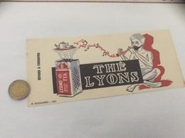 Buvard «THÉ LYONS» - Café & Thé