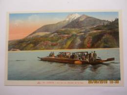 Cpa CORPS (38) Le Lac Du Sautet Et Le Bac - Corps