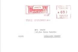 EMA FRANCE JEU JOUET ENFANT SPIELE JOUETS CHATELAIN OYONNAX AIN 1973 - Games