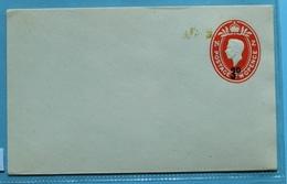 New Zealand K G VI Postal Cover Stationary 3d Ovp On 2d - Postal Stationery