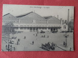Dep 45 , Cpa  ORLEANS , 518 , La Gare   (115) - Orleans