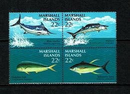 Marshall Islands 1986 Sc # 127a   MNH **  Fish - Poissons - Marshall Islands