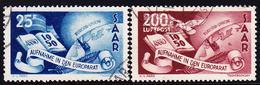 * ESPAGNE - POSTE AERIENNE - * - N°90/94 - Chiffres 000.000 Au Verso - TB - Airmail