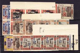 ** ESPAGNE - POSTE AERIENNE - ** - N°250/54 - Tous X4 - En Bloc De 4, Paire, Bde - Qques Rousseurs - Airmail