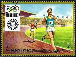 Ajman 1971 - Mi 1223A - YT 146.1 ( Munich Olympics : Runing  ) - Ajman
