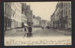 Postkaart Van  Namur - La Rue De Fer - Nels Serie Nr. 16 , Nr. 97 Met Zegel Nr. 58 ; Staat Zie 2 Scans ! - 1893-1900 Fine Barbe