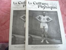 1932 Revue La Culture Physique Culturisme Homme Lot De 2 Haltere - 1900 - 1949
