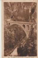 C. P. A. - LES GORGES DU LOUP - LE PONT DE L'ABÎME - 194 - FRÉDÉRIC LAUGIER - ANIMEE - VOITURE - Frankreich