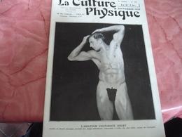 1933 Revue La Culture Physique Culturisme Homme Cache Sexe Feuille Vigne - 1900 - 1949
