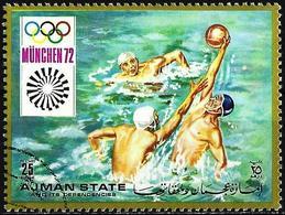 Ajman 1971 - Mi 1227A - YT 146.5 ( Munich Olympics : Water-Polo  ) - Ajman