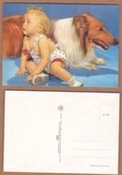 AC - BABY - DOG CARTE POSTALE POST CARD - Postcards