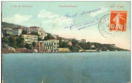 Constantinople ** Tb Cpa - ** Ed MJC N°363 - Dos Divisé - ( 18-07-1912) - Turkey