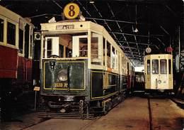 PIE.LOT T-19-5189 : MUSEE DES TRANSPORTS HURBAINS. REMORQUE UNIFIEE DES  TRANSPORTS EN COMMUN DE LA REGION PARISIENNE. - Subway