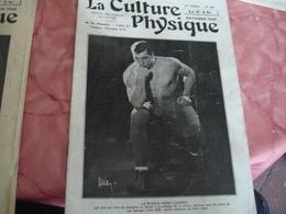 1933 Revue La Culture Physique Culturisme Homme Boxe Boxeur Primo Carnera - 1900 - 1949