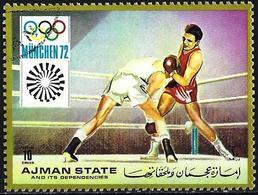 Ajman 1971 - Mi 1224A - YT 146.2 ( Munich Olympics : Boxing  ) - Ajman