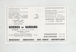 Publicités 1964 Jacob Scieries Du Bandama Oumé Ouagadougou Bobo Dioulasso  Rup Plomberie Abidjan - Reclame