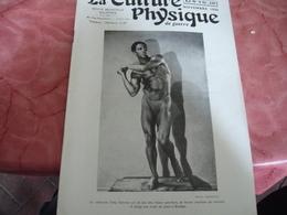 1939 Revue La Culture Physique De Guerre Culturisme Homme - 1900 - 1949