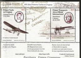 V) 2010 URUGUAY, PERSONALITIES, AVIATION 100 YEARS FIRST FLIGHTS IN URUGUAY, MNH - Uruguay