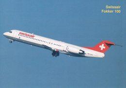 Aviation, Fokker De Swissair (6178) 10x15 - 1946-....: Modern Era