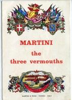 PUBBLICITA'_ADVERTISING_REKLAM-//MARTINI The Three Vermouths-Martini & Rossi-Torino-Guarda!-Original 100% /AN3- - Advertising