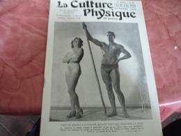 1939 Revue La Culture Physique De Guerre Culturisme Couple Qui Regenere La Race - 1900 - 1949