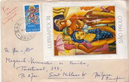 Postal History Cover: Brazil SS On Cover - Modern