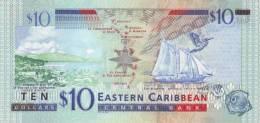 EAST CARIBBEAN STATES P. 43v 10 D 2003 UNC - Oostelijke Caraïben