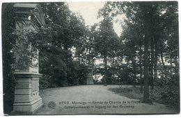 CPA - Carte Postale - Belgique - Montaigu - Entrée Du Chemin De La Croix - 1911 (C8737) - Scherpenheuvel-Zichem