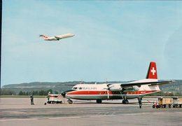 Aviation, Friendship Der Balair Und Swissair DC 9 (901) 10x15 - 1946-....: Modern Era