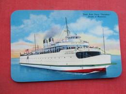 "State Auto Ferry  "" Petoskey""  Straits Of Mackinac    >> Ref 3378 - Ferries"