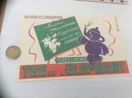 Buvard * «THÉ DE L'ÉLÉPHANT» - Kaffee & Tee