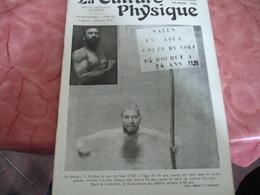 1939 Revue La Culture Physique Culturisme Docteur Rouhet - 1900 - 1949