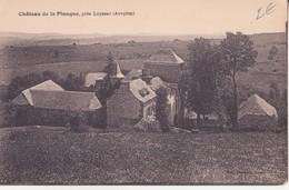 CPA - Château De La PLANQUE Près De LAYSSAC (Aveyron) - France