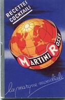 PUBBLICITA'_ADVERTISING_REKLAM-//MARTINI & ROSSI-LA MARQUE MONDIALE-RECETTES COCKTAILS-Guarda!-Original 100% /AN3- - Advertising