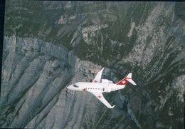 Aviation, Canadair CL 601 Challenger Der Rega (424) 10x15 - 1946-....: Modern Era