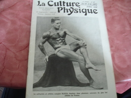 1939 Revue La Culture Physique   Culturisme Busch - 1900 - 1949