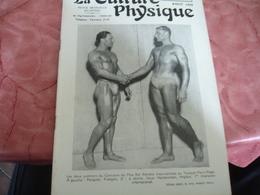 1939 Revue La Culture Physique   Culturisme - 1900 - 1949