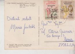 Storia Postale Francobollo Commemorativo PERU' - Peru