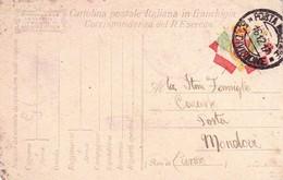 (DP)  6  DICEMBRE  1917  POSTA MILITARE 15(?)  DIVISIONE - War 1914-18