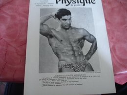 1939 Revue La Culture Physique De Guerre   Culturisme Manoukian - 1900 - 1949