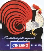 """PUBBLICITA'_ADVERTISING_REKLAM-""""CINZANO""""I COCKTAILS PREFERITI PREPARATI CON CINZANO VERMOUTH-Guarda!-Original 100% /AN3- - Advertising"""