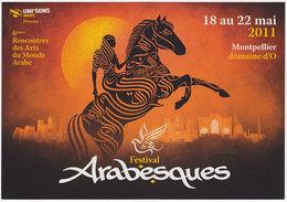 Carte Postale Moderne Non écrite France - Festival Arabesques 2011, Montpellier - Music And Musicians