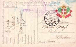 (DR)  13  OTTOBRE  1917  POSTA MILITARE     55 - Guerra 1914-18